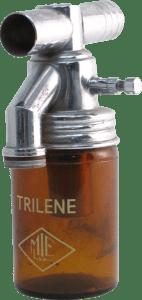 Vaporizador MIE de tricloroetileno (Trilene). 1945-1955.